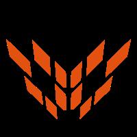 Fuchs Gesicht Abstrakt Logo