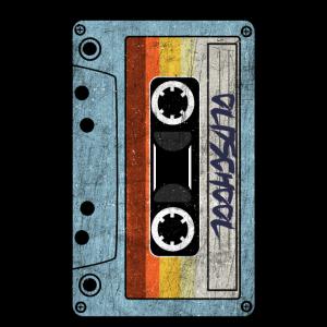 Achtziger Vintage Retro Mixtape Kassette 80er