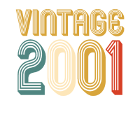 18. Geburtstag Vintage 2001 Retro Lusitg