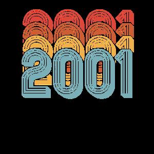 Geburtstagsgeschenk Jahrgang 2001