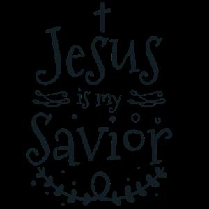 Jesus ist mein Retter - Christliches Geschenk
