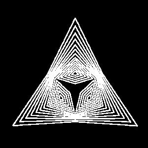 Dreieck Muster Illusion Paradoxon Form Geschenk