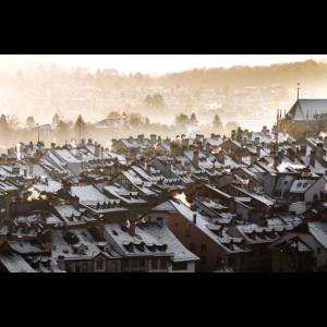Bern - Berner Altstadt im Winter