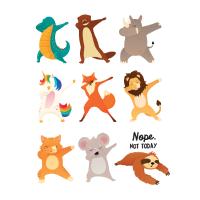 Dabbing Animals - Nope Not Today