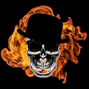 Skull Feuer