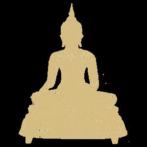 Kleiner Goldener Buddha