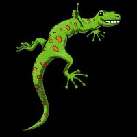 Gecko-Eidechsen-niedliches Reptil-Haustier