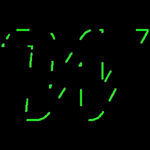 Konturen - Grün