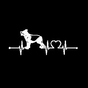 Deutscher Schäferhund Herzschlag
