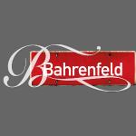 Bahrenfeld Ortsschild mit Schnörkel-B