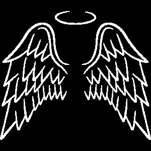 Engelsflügel Flügel Engel weiß