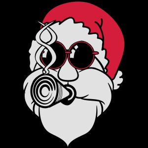 Weihnachtsmann weihnachten Zipfelmütze cool