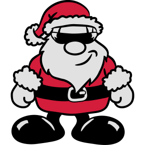 Weihnachtsmann weihnachten Zipfelmütze traurig
