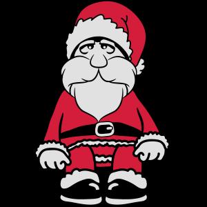 Weihnachtsmann witzig Zipfelmütz