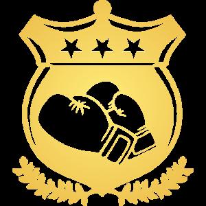 Wappen Boxen / boxing crest