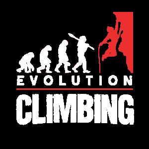 Climbing Evolution Klettern Boulderer