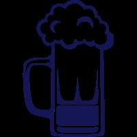 Alkohol Bierkrug Schaum Zeichnung 41710