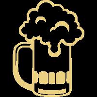 Alkohol Bierkrug Schaum Zeichnung 1710
