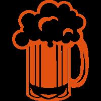 Alkohol Bierkrug Schaum Zeichnung 21710