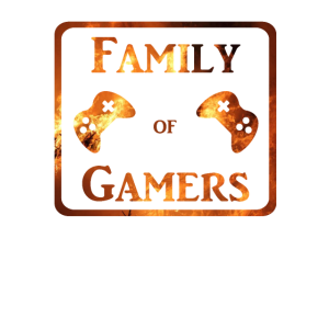 Family of Gamers Sqaure in Flames Family Friends