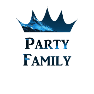 Party Family on Night Time Family and Friends