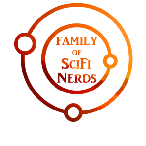 Family of SciFi Nerds in Evening Sun Family Friend