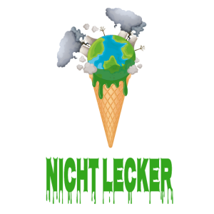 Nicht Lecker - Schmelzende Erde als Eis Demo Shirt