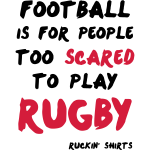 Too Scared To Play Rugby