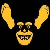 Fuß Affe Ohr