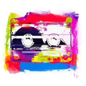 cassette casette retro 80's 90's