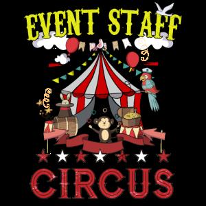 Zirkus Event Staff Party Geburtstag Lustiger Karneval