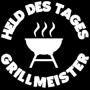 Grillmeister, der Mann am Grill. Held, Magier Fun