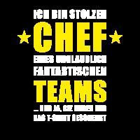 Stolzer Chef Eines Fantastischen Teams Spruch