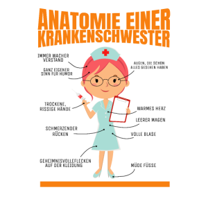 Krankenschwester mit Herz Medizin Geschenk