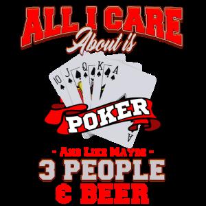 Playing Poker Card Games Beer Gambling