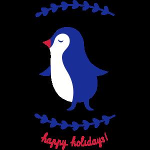 tanzender Pinguin