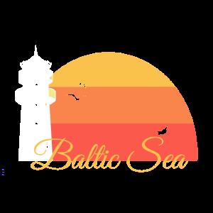 Leuchtturm Ostsee Urlaub Geschenk Sonnenuntergang