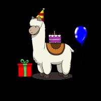 Bday Birthday Llama