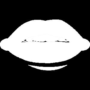 Lippen, Sexy Mund, Lustiges Bild, Geschenk