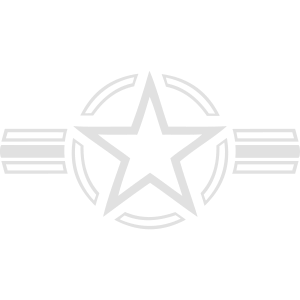 USA Army Navy Air Force Star Stern Armee