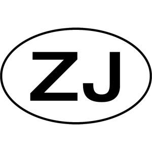 Jeep ZJ oval