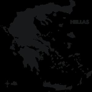 hellas greece griechenland drmaps black