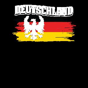 Deutschland Adler Flagge