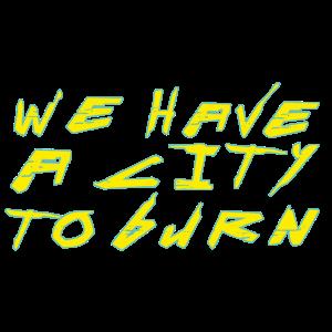 city burn 2077 cyber punk Keanu Reeves