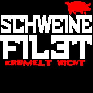 Schwein Filet Fleisch Lustig Geschenk