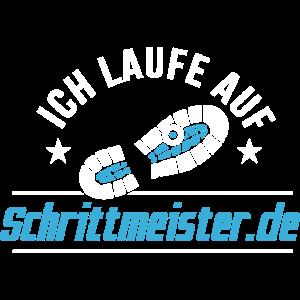 Ich laufe auf Schrittmeister.de