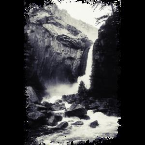 Wasserfall in der Wildnis