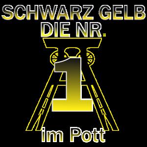 Schwarz gelb die nr.1 im Pott
