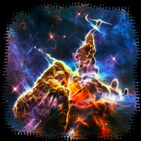 Mystic Mountain, Carina Nebula, Space, Galaxy,