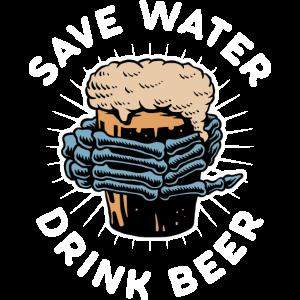 Spar Wasser trink Bier Trinken Oktoberfest